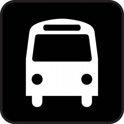 Map Symbols Bus clip art