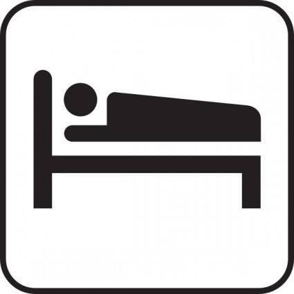 free vector Hotel Motel Sleeping Accomodation clip art