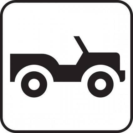 free vector Jeep Truck Car clip art