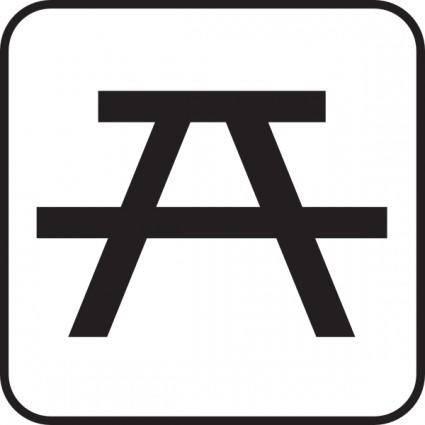 free vector Park Seat clip art