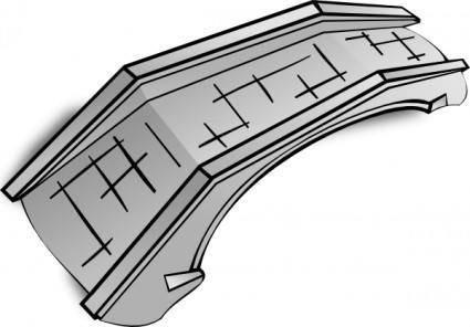 Stone Bridge  clip art