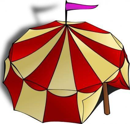 Circus Tent clip art