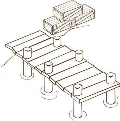 Docks clip art