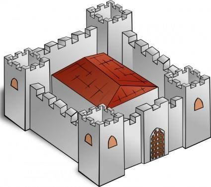 Fortress clip art