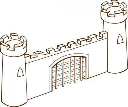 Gate clip art