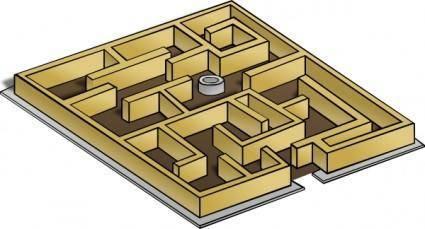free vector Maze clip art
