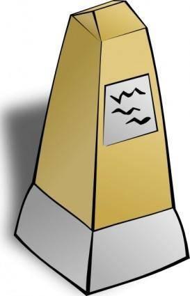 Obelisk clip art