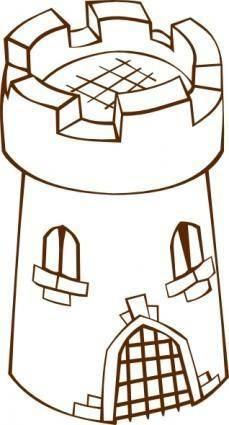 Round Tower clip art
