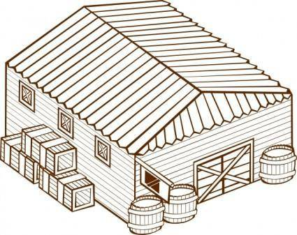 Warehouse clip art