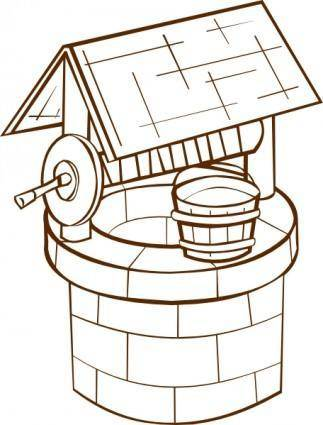 Wishing Well clip art