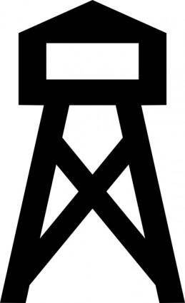 Fire Tower clip art