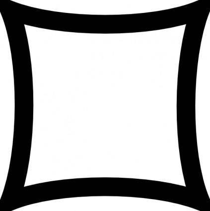Ruin Symbol clip art