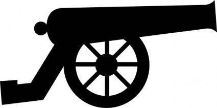 free vector Cannon clip art