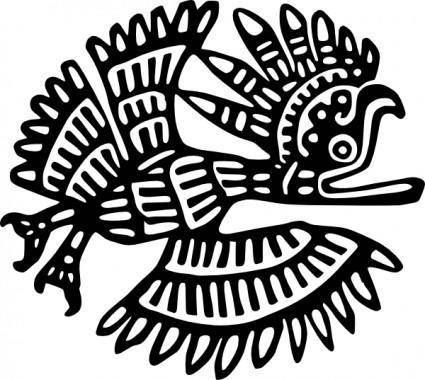 Ancient Mexico Motif clip art