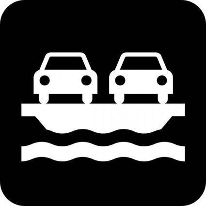 free vector Car Ferry clip art