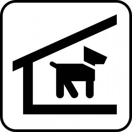 Kennel Dogs clip art