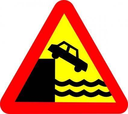 Quary Warning clip art