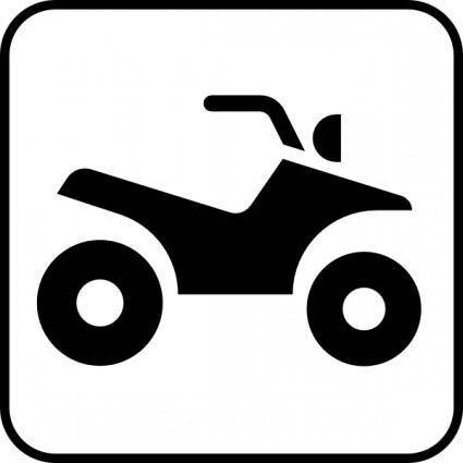 free vector Atv All Terrain Vehicle clip art