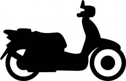 free vector Scooter clip art