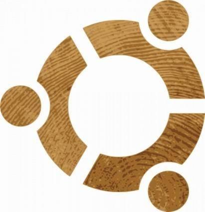 Woobuntu Linux Sign clip art