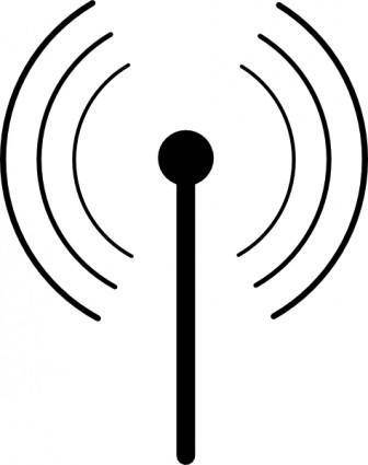 Wireless Wifi Symbol clip art