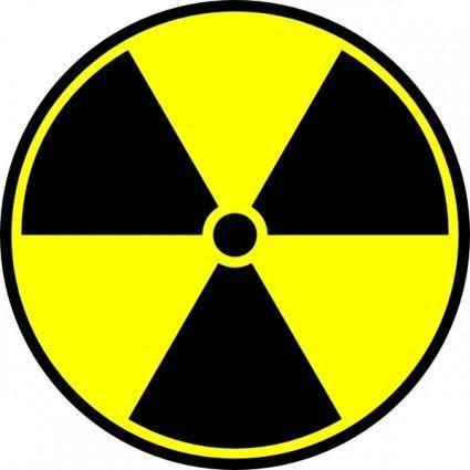 Incessantblabber Radioactive Symbol clip art