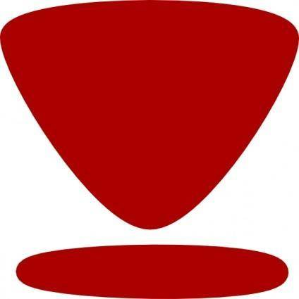 Download Button Symbol clip art