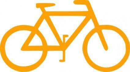 free vector Lunanaut Bicycle Sign Symbol clip art