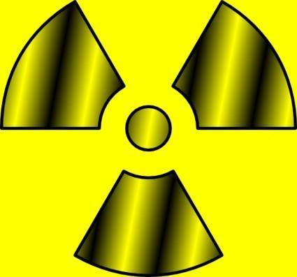 Radioactive Symbol clip art