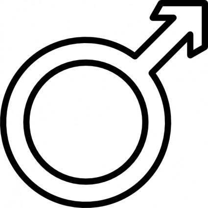 Kumar Male Symbol clip art
