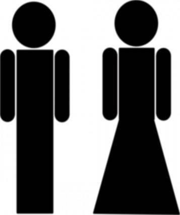 free vector Myleandro Toilet Sign clip art