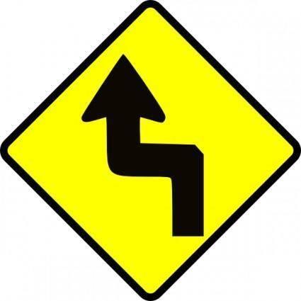 Caution Zig Zag clip art