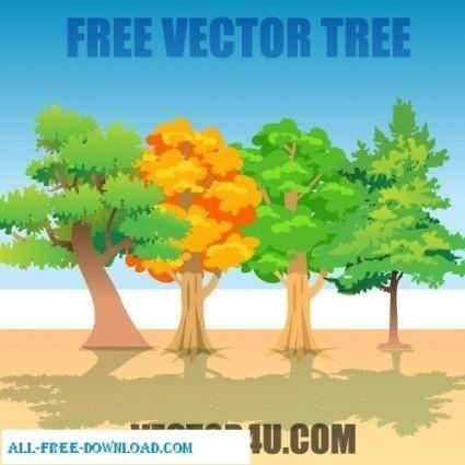 free vector Vector Tree
