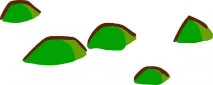 Rpg Map Symbols Hills clip art