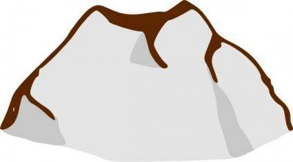 free vector Rpg Map Symbols Mountain clip art