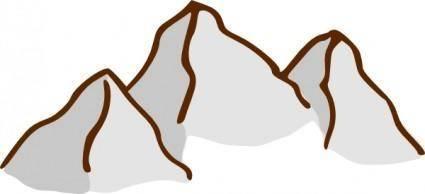 Rpg Map Symbols Mountains clip art 110413
