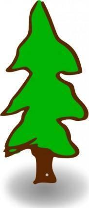free vector Rpg Map Symbols Tree clip art