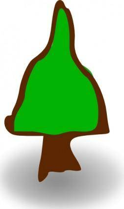 free vector Tree Cartoon clip art