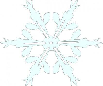 Snowflake 5 clip art