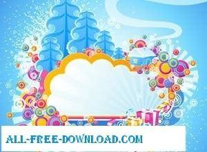 free vector Cold Winter