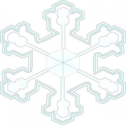 Snowflake 3 clip art