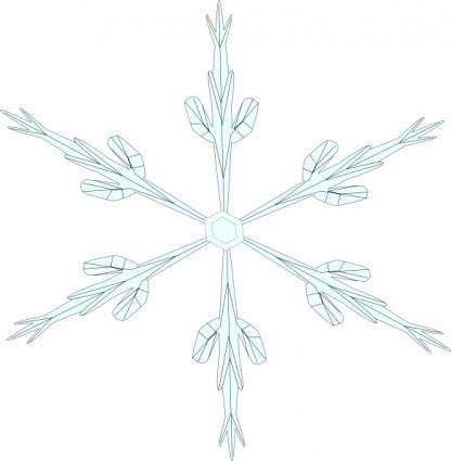 Snowflake 6 clip art