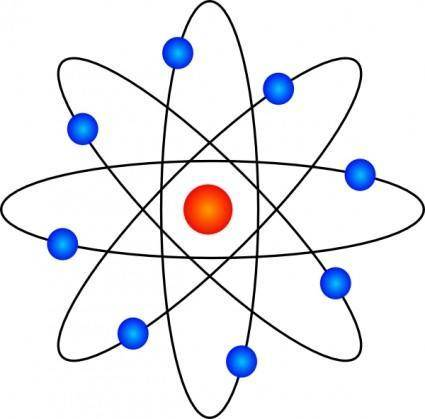 Atom Symbol clip art