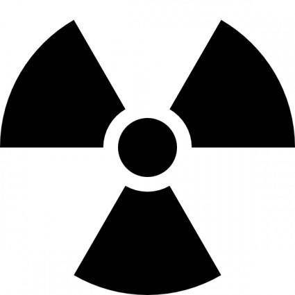 Radioactivity Sign clip art