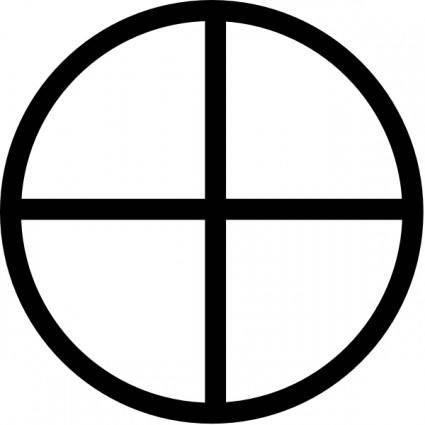 Logic Xor Symbol clip art
