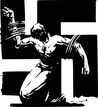 Swastika clip art