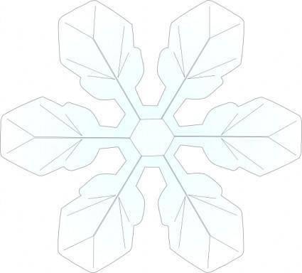 Snowflake 1 clip art