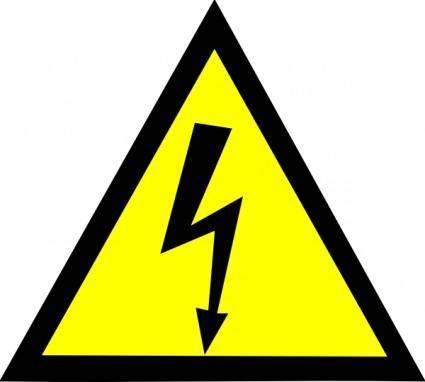 High Voltage clip art