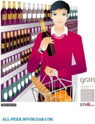 Free fashion vector 327