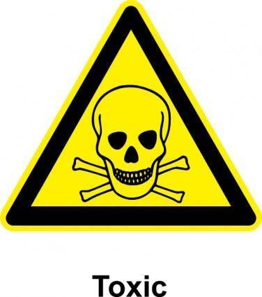 free vector Sign Toxic clip art